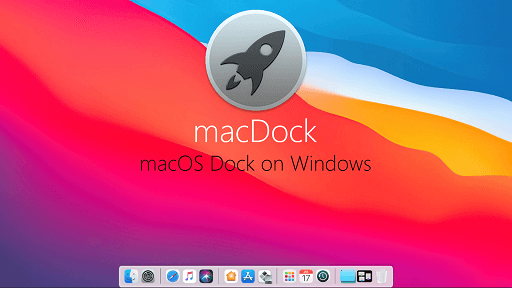 macDock - Best skin pack for Windows 10