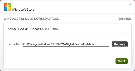 Windows USB/DVD Tool
