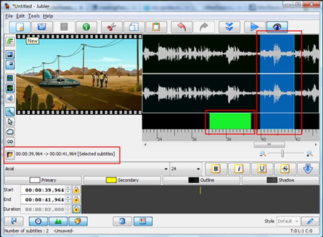 Jubler Subtitle Editor