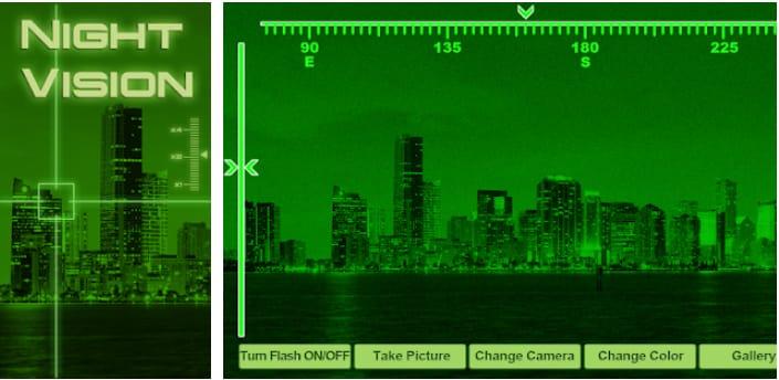 Night Vision simulator