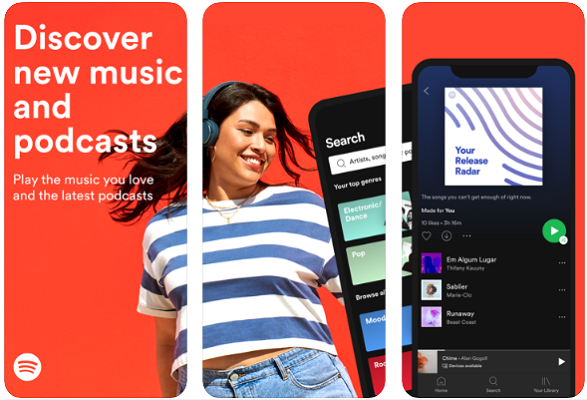Spotify - Free Offline Music App For iPhone and Android