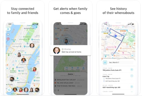 iSharing - Find Friends, Family