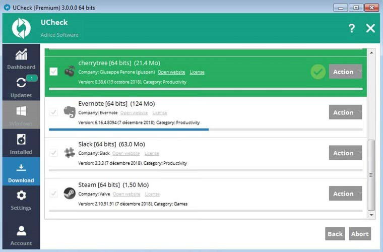 UCheck Software Updater