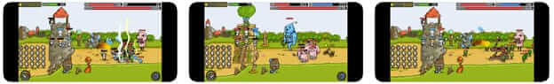Grow Castle- One of the best online tower defense games for iOS