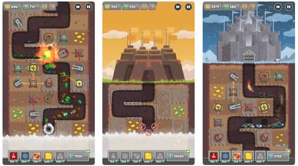 Digfender- the best tower defense game for iPhone