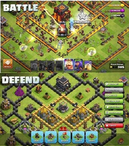 Clash of Clanes- A great iPad tower defense game for every iOS device