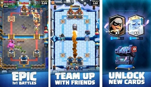 Clash Royale- online free tower defense games for iPad