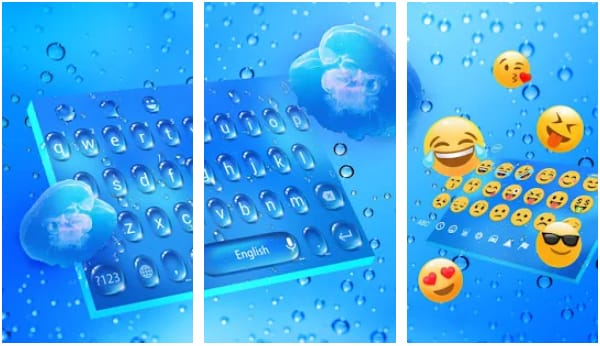 Music Keyboard - Water Drop