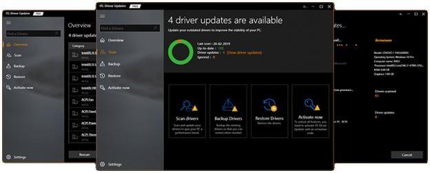 ITL driver updater program