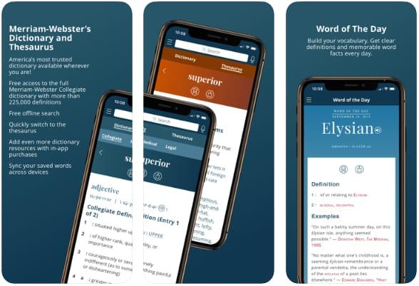 Dictionary - Merriam Webster