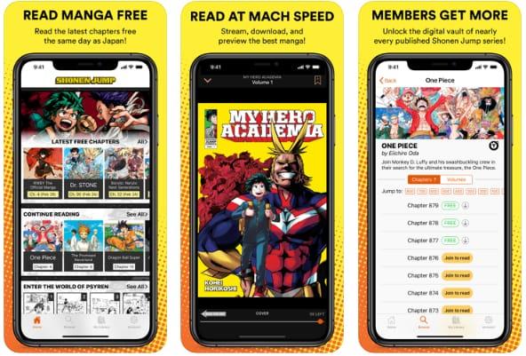 Shonen Jump & Manga Comics
