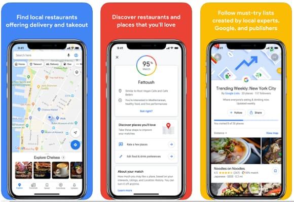 Google Maps (Best Navigation App)