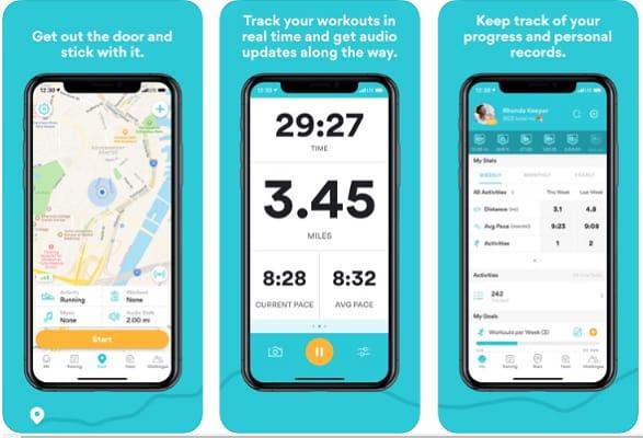 Runkeeper (Best Fitness App)