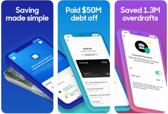 Digit - Savings & Debt Manager