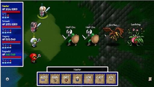 Dragon's Blade- Heroes of Larkwood