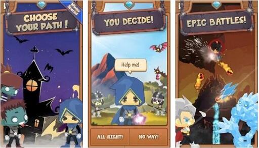 GOD OF MAGIC - Offline Choose your own adventure