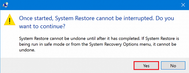 Carry out a system restore-3