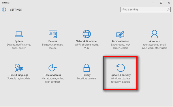 Update your Windows version-1