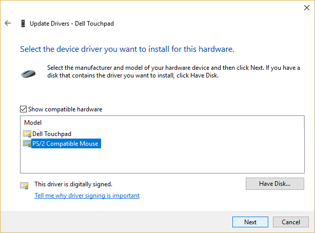 Install the wireless mouse drivers again-5