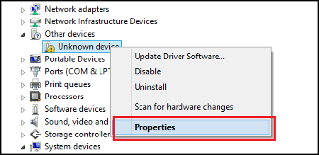 Download Driver Using Device Manager to Fix Unknown Device Error