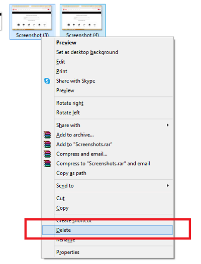 detect and delete duplicate Images