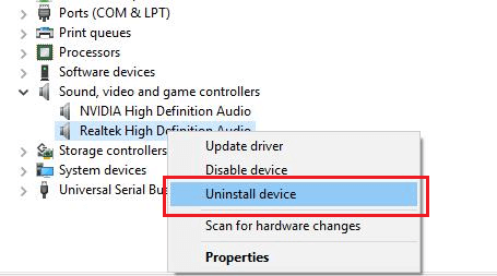 Install Realtek audio driver again-1
