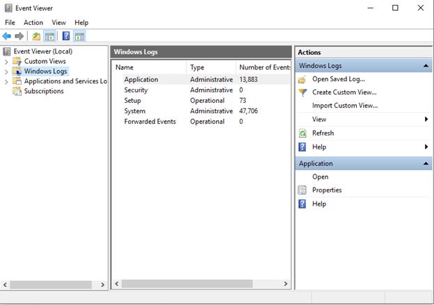 Expand Windows Logs