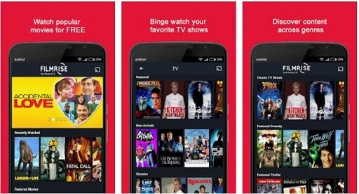 FilmRise- online streaming platforms and cable TVs