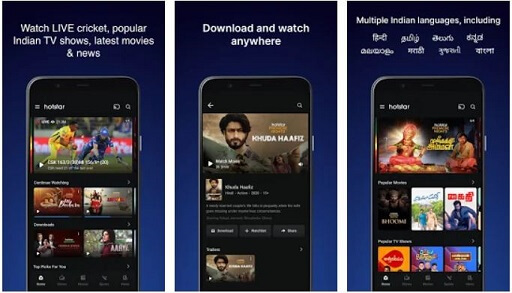 Hotstar- best streaming apps