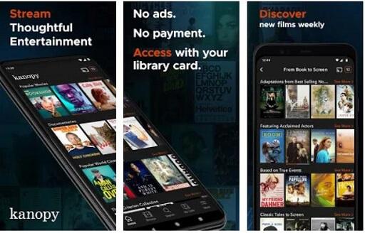 Kanopy- digital library-like app