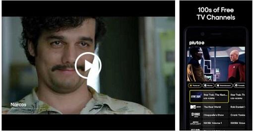 Pluto TV- Free online movie, tv app