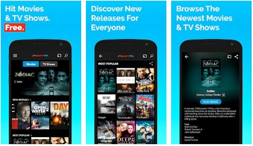 Popcornflix- reliable app to watch movies for free