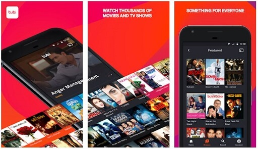 Tubi TV- best movie apps for Android