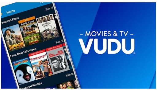 Vudu- best movie apps for Android