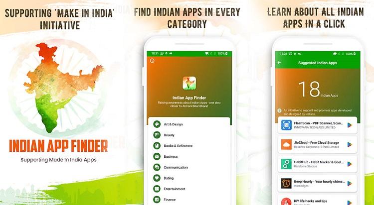 Indian App Finder