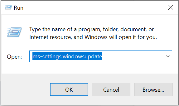 ms setting windowsupdate