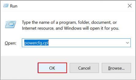 run powercfg.cpl