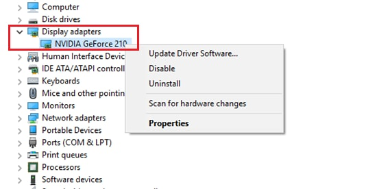 enable graphic device driver