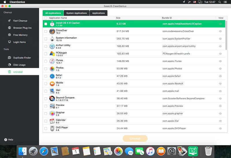 EaseUS CleanGenius for Mac 5.0