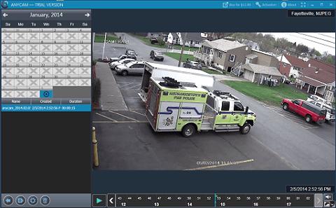 AnyCam- IP camera recording software free