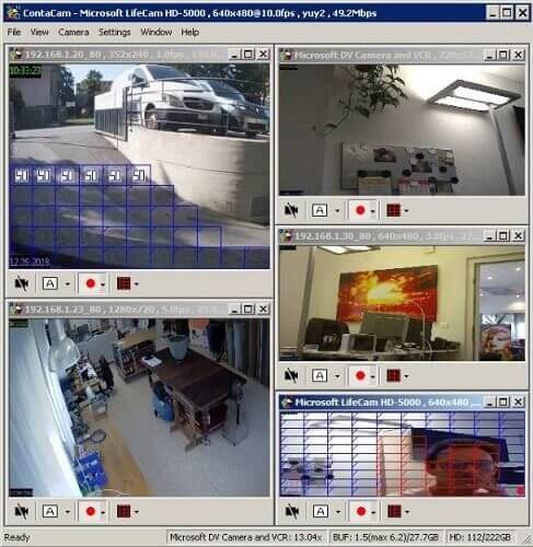 ContaCam- IP camera software windows 10