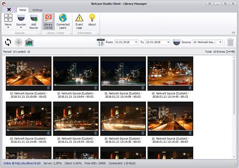 NetCam Studio- Best ip camera software windows 10