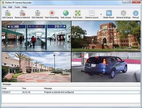 Perfect IP Camera Recorder - Best IP camera software recorder