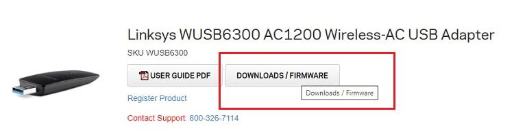 select-Downloads-Firmware-for-linksys-driver