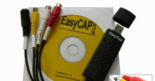 EasyCAP Original Installation CD-DVD