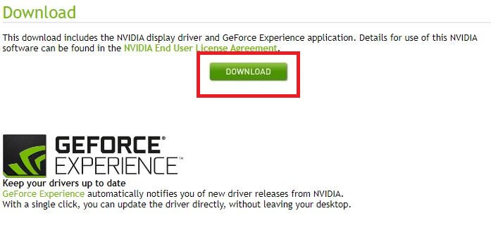 download the NVIDIA GeForce 940MX driver