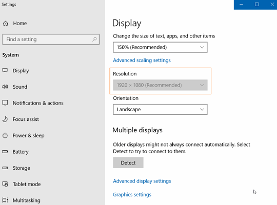 Change-the-display-resolution-settings