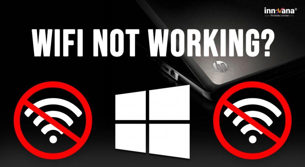 hp Laptop WiFi not Working on Windows 10,8,7