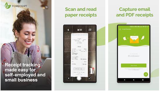 Foreceipt - Receipt Scanner Expense Tracker