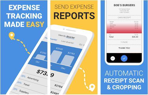 Receipt Scanner smart receipts & expense tracker